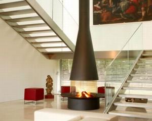 offene kamine f r erh hten wohnkomfort bau fachwissen. Black Bedroom Furniture Sets. Home Design Ideas