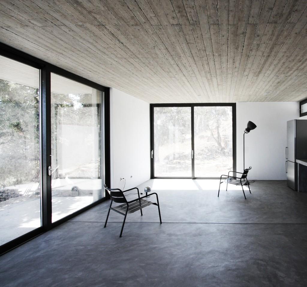 zeitlos individuell und nachhaltig wohnen mit beton bau fachwissen. Black Bedroom Furniture Sets. Home Design Ideas